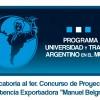 Convocatoria a proyectos de asistencia exportadora
