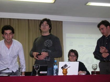 Joel Chornik, Fabio Baccaglioni, Juan Pablo Sueiro y Sebastián Desimone