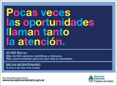 becas-bicentenario