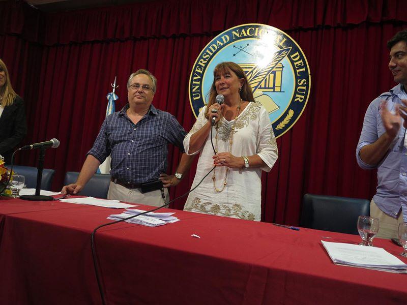 Sabbatini y Legnini ocuparán el Rectorado por el período 2015-2019