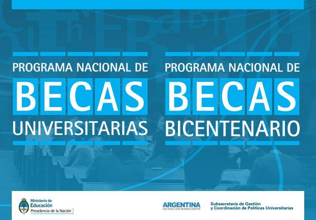 Becas para ingresantes universitarios 2015 del PNBU y Bicentenario